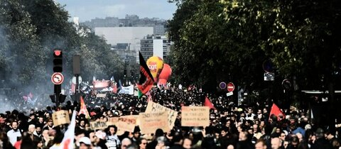 Demonstration in Paris