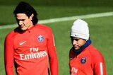 Superstar-Duo Edinson Cavani und Neymar (v.l.)