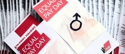 Material zum Equal Pay Day 2017