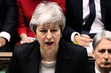 Premierministerin Theresa May am Mittwoch im Parlament