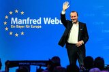 Manfred Weber Anfang April in Straubing
