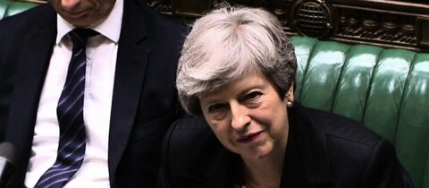 Premierministerin Theresa May am Mittwoch in London