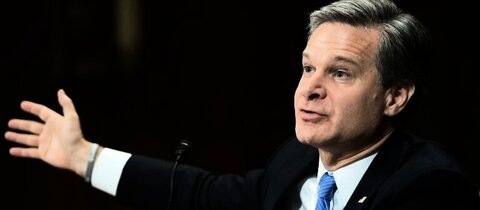 FBI-Chef Christopher Wray im US-Senat