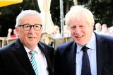 Juncker und Johnson in Luxemburg