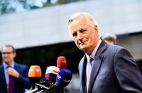 Michel Barnier in Luxemburg