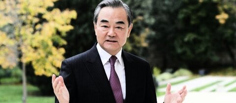 Chinas Außenminister Wang Yi in Paris