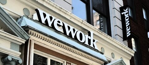 WeWork-Gebäude in New York