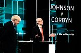 Boris Johnson (l.) und Jeremy Corbyn
