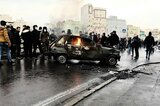 Demonstration in Teheran am 16. November