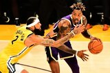 Cauley-Stein (l.) kommt per Trade aus Golden State