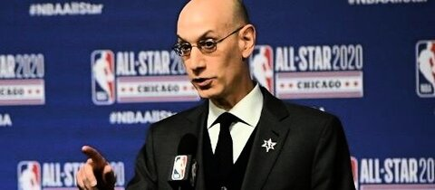 Spricht über den Re-Start: NBA-Commissioner Adam Silver