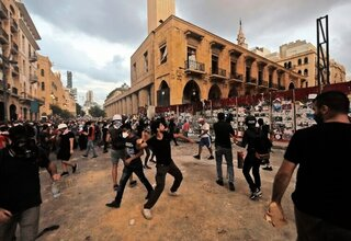 Proteste am Montag in Beirut