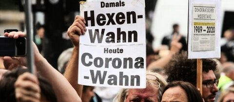 Corona-Demonstration in Berlin am 30. August