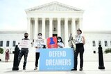 "Demonstration zur Erhaltung des ""Dreamer""-Programms in Washington"