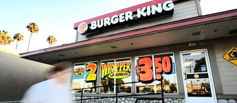 Burger-King-Filiale in den USA