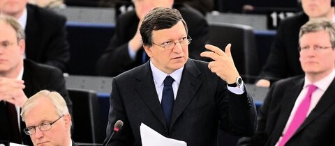 Barroso in Straßburg
