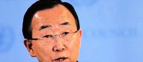 UN-Generalsekretr Ban Ki Moon