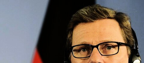 Bundesauenminister Westerwelle