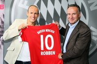 Robben (l.) und Rummenige