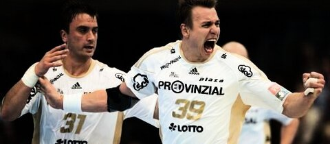 Der THW Kiel gewinnt auch gegen Wetzlar