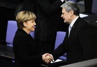 Merkel und Gauck