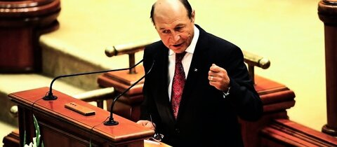 Rumniens Staatschef Basescu