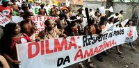 Protest gegen Belo Monte