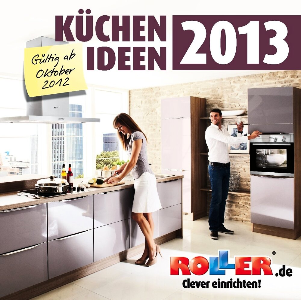 der neue roller k chenkatalog ist da wirtschaft deutschland today. Black Bedroom Furniture Sets. Home Design Ideas