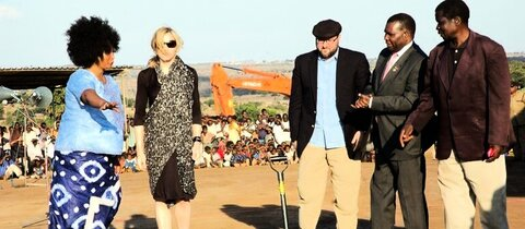 Madonna engagiert sich seit lngerem in Malawi