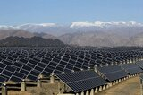 Solaranlage in China