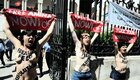 Femen-Protest Ende Mai in Tunis