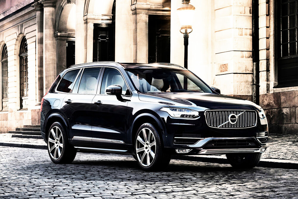 volvo xc90 first edition auto verkehr deutschland today. Black Bedroom Furniture Sets. Home Design Ideas